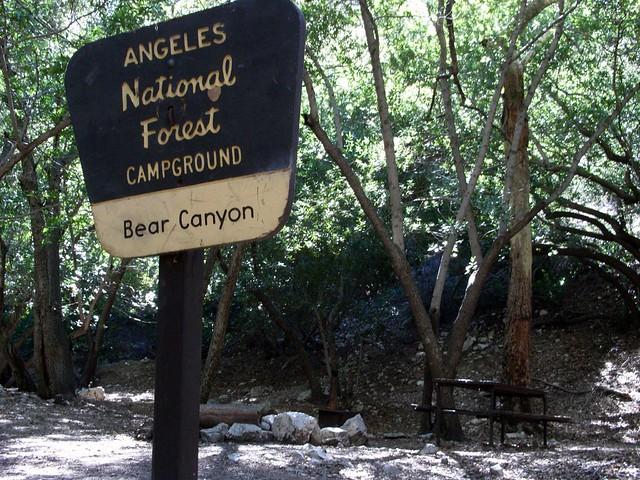 Bear Canyon Campground