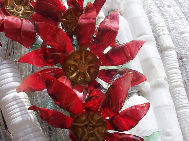 Recycled Christmas Decorations Using Plastic Bottles
