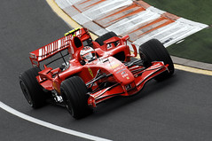 [Free Images] Transportation, Cars, Sports, Racing, Car Racing, Ferrari, Formula One, Kimi Räikkönen  ID:201109101000