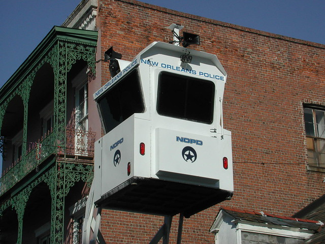 NOPD Sky Watch Booth