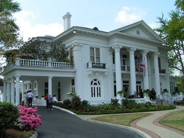 Alabama governor 39 s mansion flickr photo sharing Southern homes and gardens montgomery al