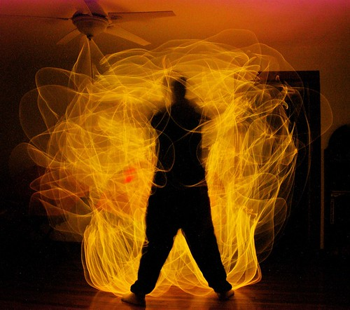 "Light Painting #63 (""Bumpkin's on Fire"")"