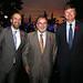 Francisco Castro, vicepresidente de Finanzas de Transelec; Jorge Rodríguez, presidente de Banco Estado, y Andrés Kuhlmann, gerente general de Transelec