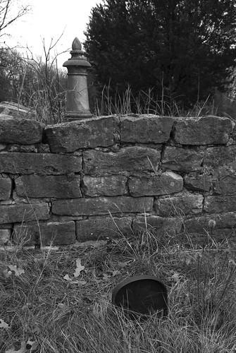old bw house cemetery rock stone blackwhite nikon headstone graves cc