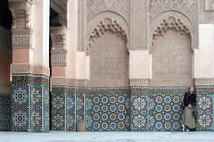 ben youssef madrasah, marrakech, jan. 2007
