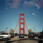 Crossing Golden Gate Bridge - San Francisco, California