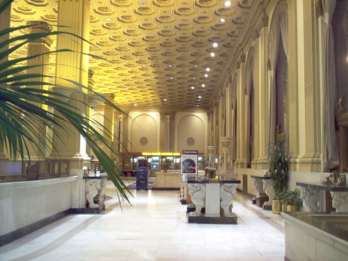 Crocker bank Lobby Montgomery and Post Streets san francisco