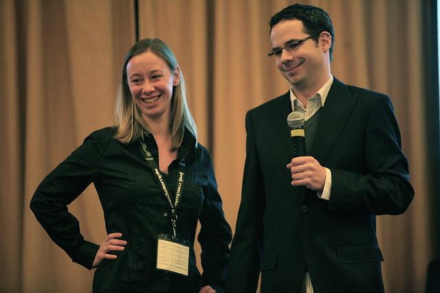 Angela Baxley + Pete LePage, Microsoft @ Web Directions North. February 8, 2007
