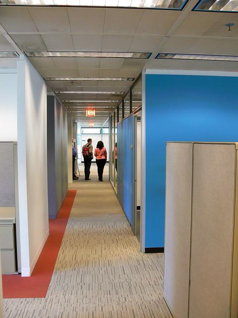 Inland steel interior 08 flickr photo sharing for Interior design staffing agency chicago