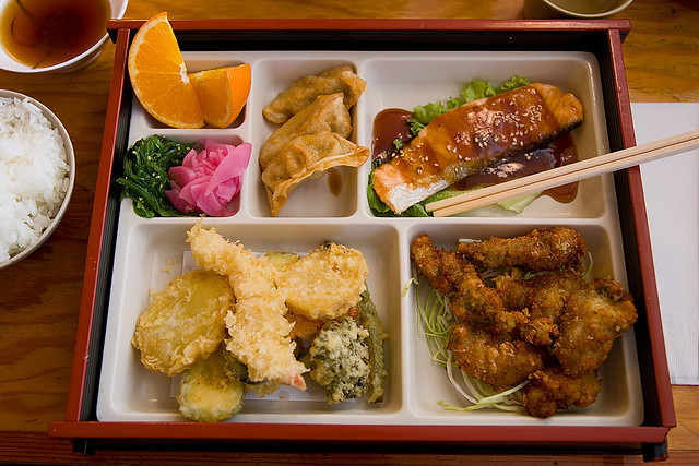 three item lunch box at akaihana restaurant flickr photo sharing. Black Bedroom Furniture Sets. Home Design Ideas