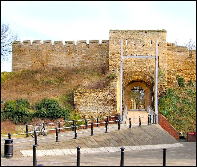 West Gate, Lincoln Castle