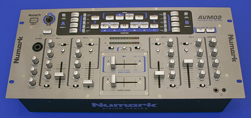 first impressions review and unboxing pictures numark avm02 video audio mixer cdm create. Black Bedroom Furniture Sets. Home Design Ideas