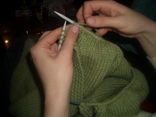 #57 - Monday Night Knitting