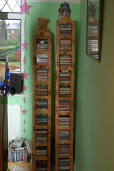 Reclaimed Wood CD rack