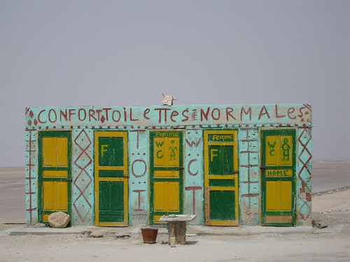 WC al desert