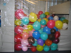 Balloon Cubicle.