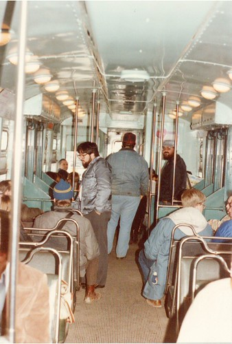 eddie 39 s rail fan page interior view of a chicago transit authority 1950 39 s era 6000 series rapid. Black Bedroom Furniture Sets. Home Design Ideas