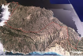 Catalina Marathon route
