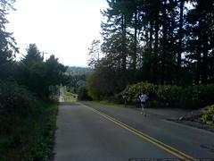 megan running down bergis road   DSC00064
