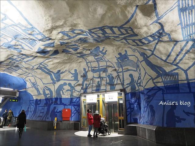 斯德哥爾摩藝術地鐵008