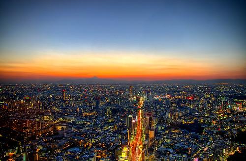 Tokyo City Sunset