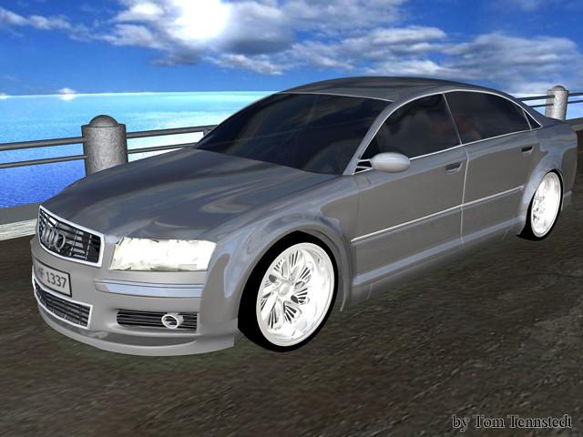 Audi A8 Cinema 4d Ttdesign Flickr Photo Sharing