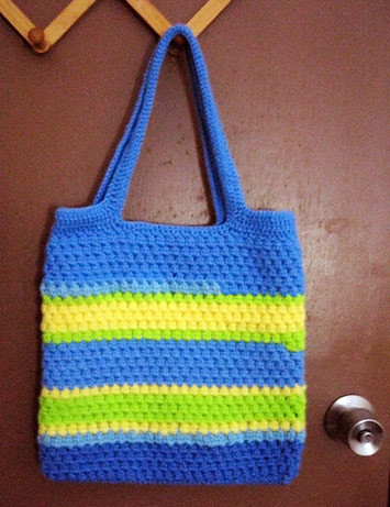 Crochet Patterns For Tote Bags : Crochet Tote Bag Flickr - Photo Sharing!