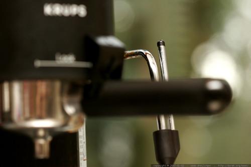 espresso machine repaired by ? rachel ?    MG 8625