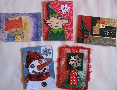 Holiday Artist Trading Card swap