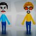 Small photo of Borat and Ali G