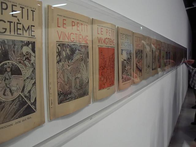 Expo Hergé (Pompidou)