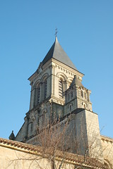 Tower - Abbaye de Nieul-sur-l'Autise