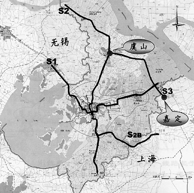 上海地铁未来规划图图片大全 上海轨道交通规划图图片