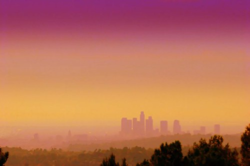 Beautiful Dusk of Smog City