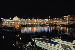 Cape Town Waterfront at Night