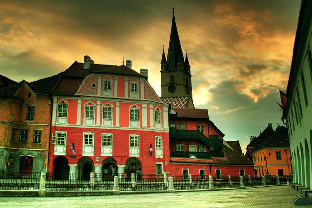 mi se stinge in Sibiu