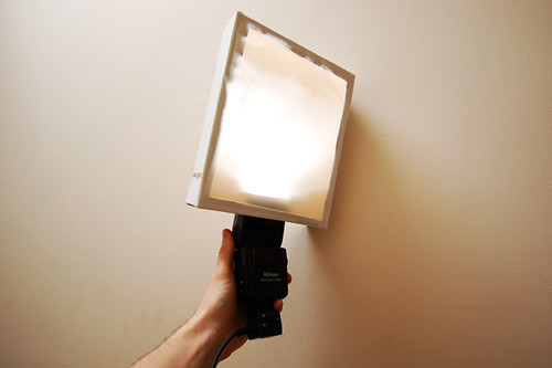 DIY mini softbox