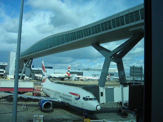 Gatwick Airport by flickr user wjarrettc