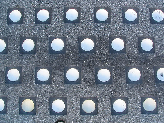 Picture of dots on a street