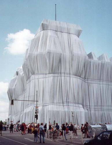 Wrapped Reichstag/Verhüllter Reichstag