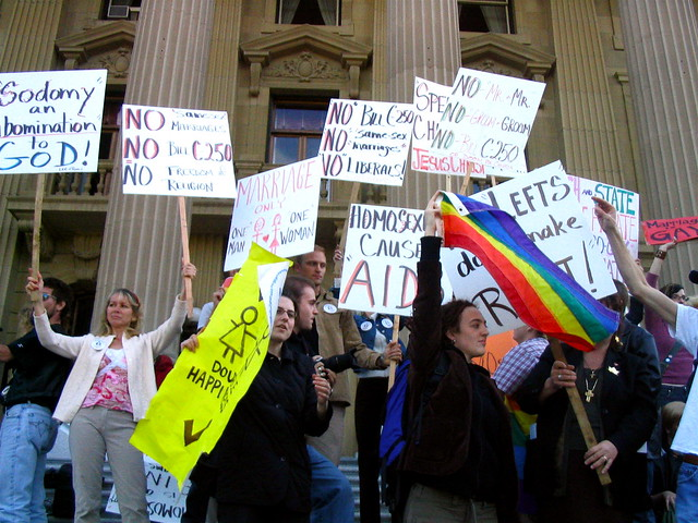 the anti anti-gay marriage rally