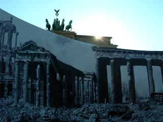 Trompe L'Oeil, Brandenburg Gate, Berlin