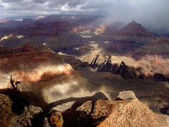 grand canyon snowstorm