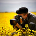 photog in the flowers by Sara Heinrichs (awfulsara)