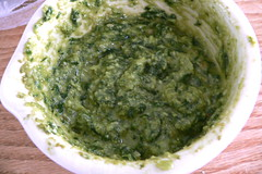 condiment, vegetable, vegetarian food, chimichurri, green sauce, food, dish, cuisine,