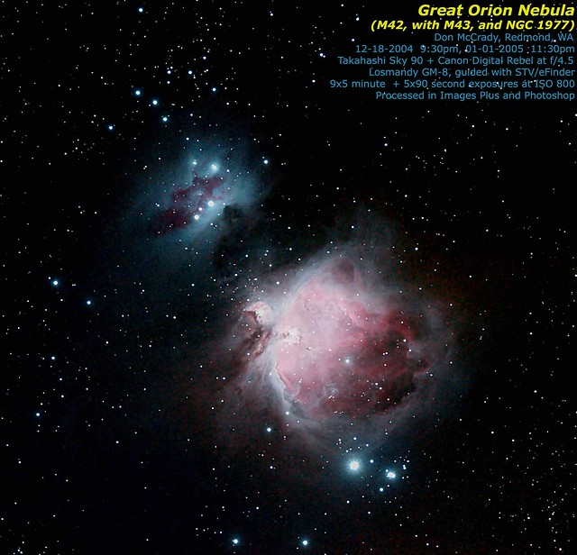 Orion Nebula M43 (page 2) - Pics about space