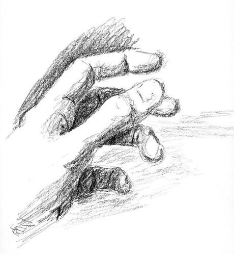 Hand Sketch (Credit: Dave Kleinschmidt on Flickr.com)