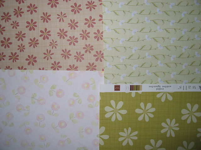 New Scrapbook Papers