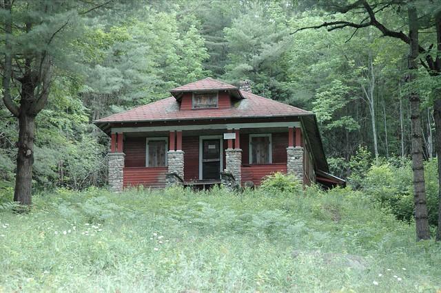 Sears Roebuck Kit House At Farm Santanoni Preserve In