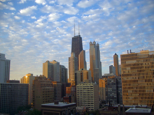 Golden Chicago Morning